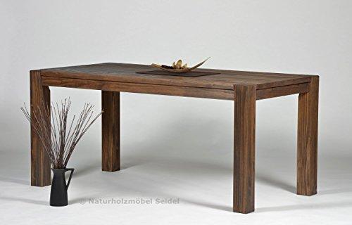 Esstisch-Rio-Bonito-160x80cm-Pinie-Massivholz-gelt-und-gewachst-Tisch-Farbton-Cognac-braun-Optional-passende-Bnke-und-Ansteckplatten
