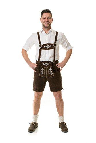 ALMWERK Allgäu -  Lederhosen  - uomo marrone XL
