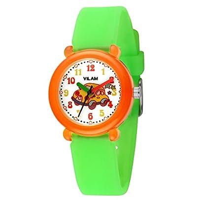 Vilam Kids' Analog Display Japanese Quartz Luminous Wrist Watch With