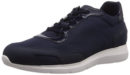 Samsonite Shoes TOKIO LOW 1631 FABRIC/FABRIC BLUE/BLUE, Low-Top Sneaker uomo, Blu (Blau (BLUE/BLUE)), 44
