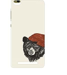 EPICCASE bear with hat Mobile Back Case Cover For Xiaomi 3S Prime (Designer Case)