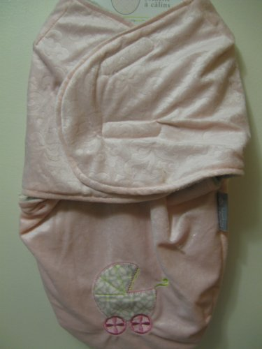 Blankets and Beyond Baby Girl Swaddle Bag
