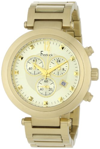 Freelook Women's HA1136CHMG-3B Cortina Matte Gold Chronograph Watch