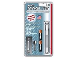 Mini Maglite-Powerful Focusing Beam 2 Cell AAA Flash Light (