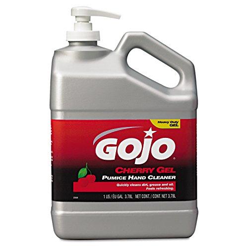 gojo-2358-cherry-gel-pumice-hand-cleaner-1-gallon