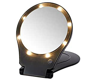 Amazon Com Floxite 5x Magnifying 360 Degree Lighted Home