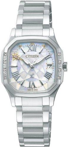 [シチズン]CITIZEN 腕時計 xC クロスシー  Eco-Drive 電波時計 Perfex搭載 冬限定モデル 【数量限定】 XCB38-9221 レディース