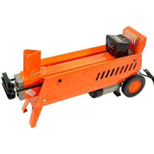 how to make electric wood splitter