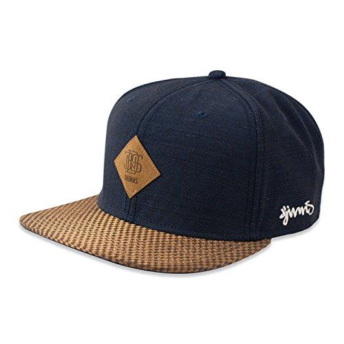 DJINNS - Glencheck (navy) - Snapback Cap