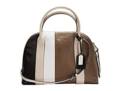 Coach Bleecker Preston Satchel 30151 in Colorblock Leather: Handbags