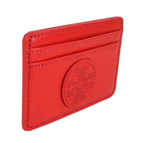 Tory Burch Tory Burch Kipp Slim Card Case Tory Red