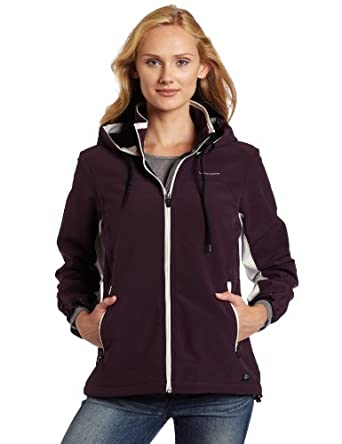 Buy Dickies Ladies Color Block Soft Shell Jacket by Dickies