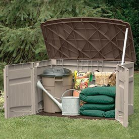 Horizontal Storage Shed – Bronze