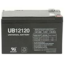 UB12120 12VOLT 12V 12AH - PRIDE MOBILITY SONIC BATTERY REPLACEMENT