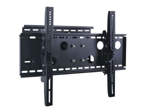 "Mount-It! New Universal Adjustable Tilting/Swiveling Articulating Full Motion Dual Arm Tv Wall Mount Bracket For Lcd Led Plasma - Black (Max 125 Lbs, 32~60""* Inch) *Max Vesa 750X450 Fits Element Tvs"