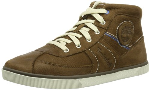 Timberland Boys Earthkeepers Eastham H&L Oxford High-Top C34X3R Brown 2 UK, 34.5 EU