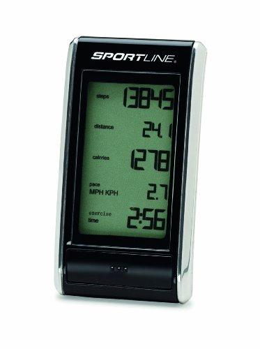 Cheap Sportline 308 Snapshot Pedometer (Black) (WV1451BK)