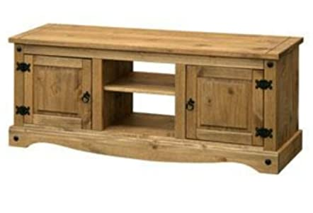 The Best  Mexican Style Pine Large TV Cabinet for up to 60 inch TVs