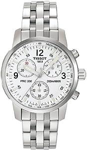 Tissot T-sport Prc200 Chronograph White Dial
