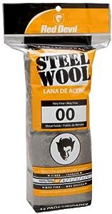 Red Devil 0312 16-Pack Steel Wool, 00 Very Fine