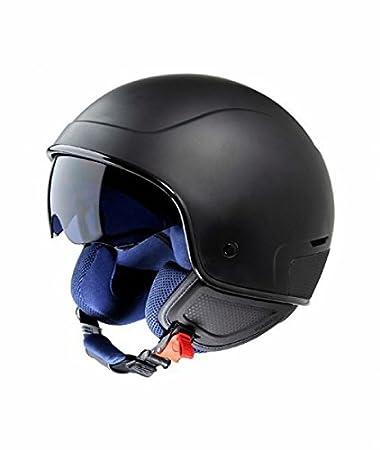 Piaggio pJ1 casque jet taille l (noir mat)