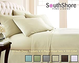 Softest Mattresses In The Market Amazon.com: Southshore Fine Linens® 110 GSM - 6 Piece - 21 Inch Extra ...
