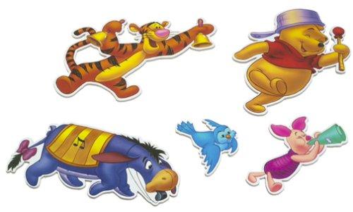 Pooh Five - Piece Musical Wall Art - 1