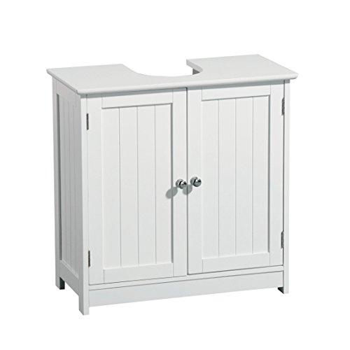 Premier housewares mueble para debajo del lavabo madera for Armario bajo lavabo pie