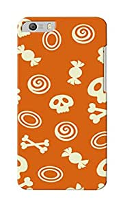 CimaCase Skull And Candies Designer 3D Printed Case Cover For Micromax Canvas Knight 2 E471