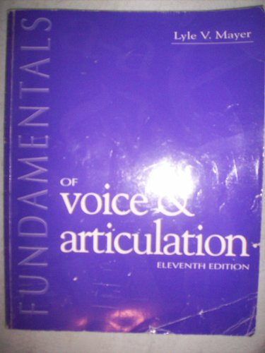 Fundamentals of Voice & Articulation