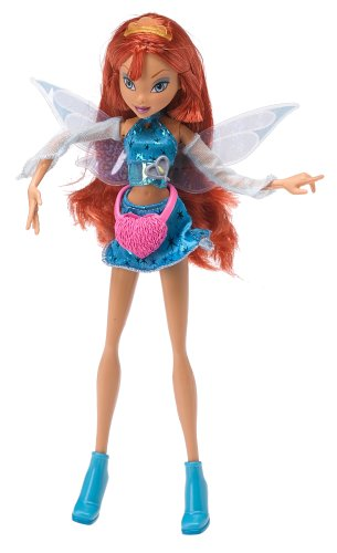 Buy Low Price Mattel Winx Club Fairy Doll Series 2 Basic Figure [Pink Package]Bloom (B000B6MKHE)