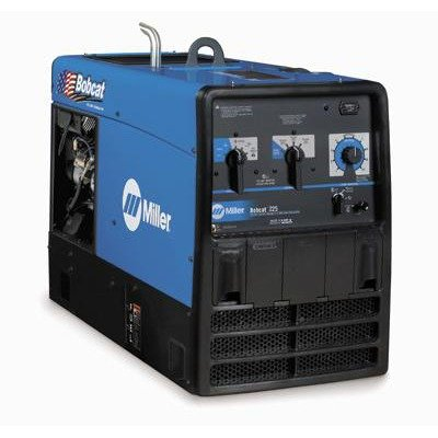 225 Welder/Generator With 23HP Subaru Engine And GFCI Receptacles, 10000 Watts Peak, 225 Amp With Ground Fault Circuit Interrupt