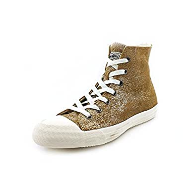 Ralph Lauren Denim & Supply Risley Metallic Sneaker, 8.5 M US