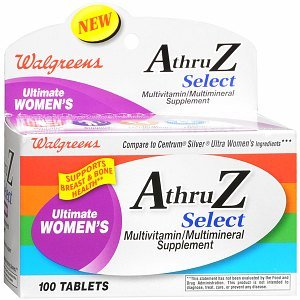 Walgreens A Thru Z Select Ultimate Women'S Multivitamin/Multimineral Supplement Tablets, 100 Ea