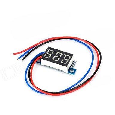 Zcl 3-Digit Voltmeter For Electric Motorcycle (0V~99.9V)