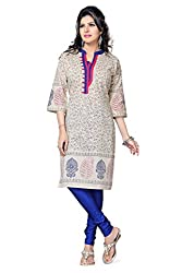 Snehal Creation-Divinely Elegant Kurti In Frothy Off White (PR-454_Cream_42)