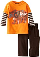 Watch Me Grow! by Sesame Street Grizzly Bear Pant Set