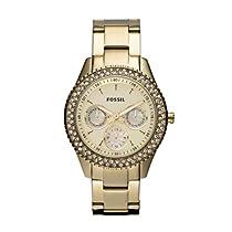 Fossil ES3101 Ladies STELLA Gold Watch
