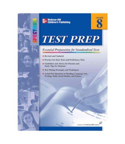Spectrum Test Prep Workbook, Grade 8 - 1