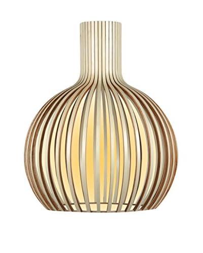 Lo+Demoda Lámpara De Suspensión Ball Wood Beige