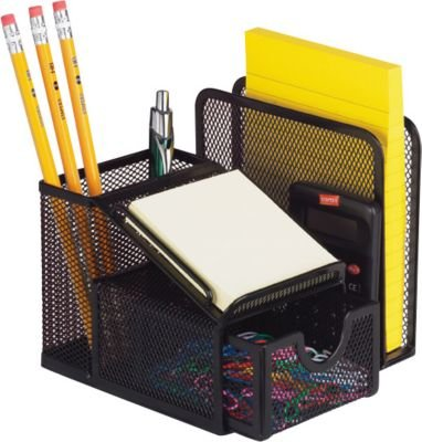 Office mesh all in one desk caddy sorter organizer new - Desk organizer sorter ...