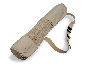 Gaiam Eco Conscious Recycled Yoga Mat Bag ( Tan)