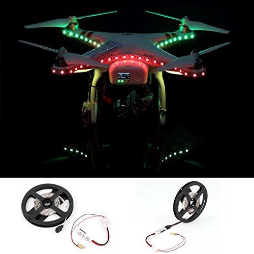 Shien Colorful LED Strip Light For Phantom 3 Quadcopter Night Flying