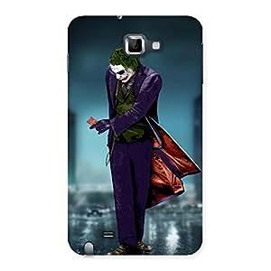 Cute Premier Psyco Multicolor Back Case Cover for Galaxy Note