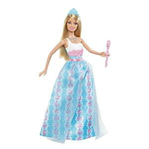 Barbie Princess Barbie Blue Dress Doll - 2012 Version