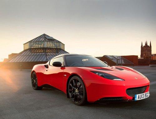 lotus-evora-sports-racer-2013-car-art-poster-print-on-10-mil-archival-satin-paper-red-front-side-par