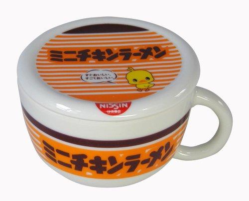 日清チキン 蓋付きマグカップ