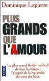 echange, troc Lapierre Dominique - Plus grands que l'amour