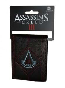 Assassin's Creed III - Black PU Bi-Fold Logo