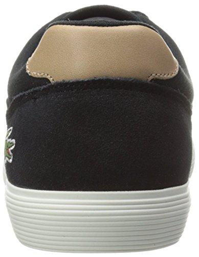 Lacoste Men's Jouer 316 1 Cam Fashion Sneaker, Black, 8 M US